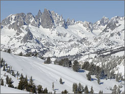 Now within easy reach: Mammoth Mountain has a huge  and high!  ski area just a short flight from L.A. or Reno. Condos offer lots of rental potential, since there are few hotels.