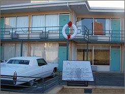 In Memphis: The Lorraine Motel, where Martin Luther King Jr. was assassinated, is part of the National Civil Rights Museum.