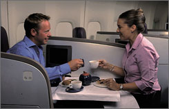 Virgin Atlantic was among the first airlines to install suites on aircraft in 2003.