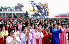 Pyongyang: North Koreans in Kim Il Sung Square may soon be joined by more American travelers.
