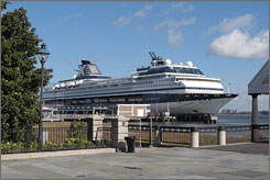 This year, 53 cruises will embark from Charleston while 16 other cruises will make ports calls.