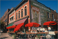Fort Collins, Colo., provided the real-life inspiration for Disneyland's Main Street, USA attraction.