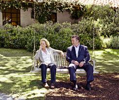 "Co-stars: The ""natural beauty"" of Santa Barbara shares the screen with Meryl Streep and Alec Baldwin in 'It's Complicated.'"