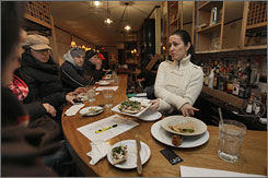 One of the most popular stops on the tour is 24 Prince, a trendy bistro co-owned by Nikki Cascone, a contestant on the show's  fourth season.