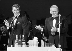 Las Vegas icons Dean Martin and Frank Sinatra will be honored on the city's Walk of Stars.