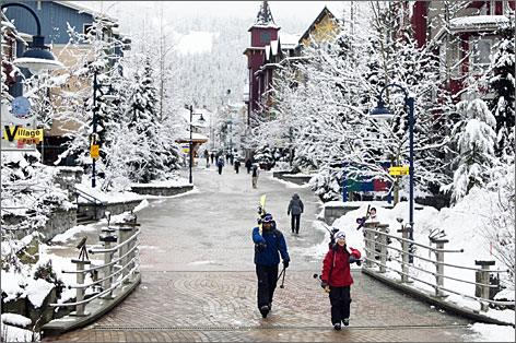Whistler Blackcomb Resort: Site of the annual TELUS World Ski & Snowboard Festival in April.