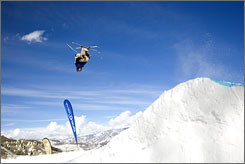 Like extreme sports but not extreme prices? Try Big Air Fridays at Aspen Snowmass.