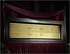 Traditionally, the public gets a peek at the Shroud of Turin every 25 years.