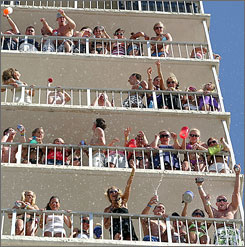Throngs of barely dressed teens and twenty-somethings descend on Panama City Beach every March and April.