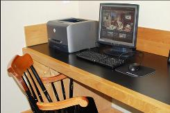 Guests at the Charles Hotel in Cambridge, Mass., can use Skype at its free computer stations.