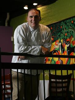 Jose Andres of Minibar in Washington, D.C., has been nominated for the 2010 top chef award by the James Beard Foundation.