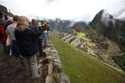Machu Picchu was closed for two months after torrential rains disrupted access to the site.