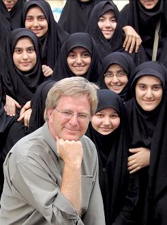 """I've never been so warmly received"": Rick Steves was surprised when he went to Iran."