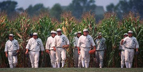 In Dyersville, Iowa:  Admission is free at the Field of Dreams Movie Site.