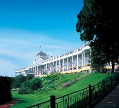 Mackinac Island: The Grand Hotel was the setting for the romantic movie Somewhere in Time, starring Christopher Reeve and Jane Seymour.