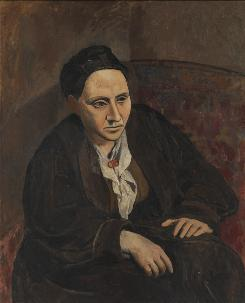 Highlights of the Metropolitan Museum of Art exhibit include the famous 1906 portrait of Gertrude Stein, which was the museum's first Picasso acquisition.