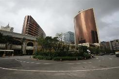 Billionaire Steve Wynn opened the Wynn Encore Macau, right, on Wednesday and said he aims to start building a massive new resort in the Chinese gambling mecca next year.