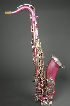 The Musical Instrument Museum features 10,000 instruments, including this 1970 saxophone from Paris.