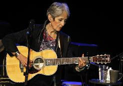 Folk music legend Joan Baez will perform July 6 at Reno's 15th annual Artown festival.