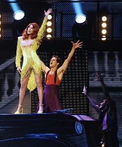 Cher's show at Caesars Palace in Las Vegas features 14 costumes  a new one every six minutes or so.