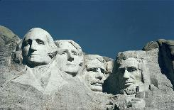 Mount Rushmore is the first site in the United States to be laser-scanned as part of the CyArk project.