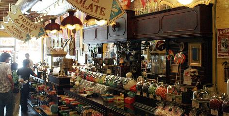Candy nostalgia: Big Top Candy Shop in Austin is a three-ring circus of treats, with a large selection of candy that was popular in days gone by, like Gold Rock bubble gum in a cloth bag.