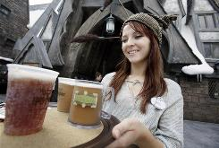 Butterbeer  a nonalcoholic brew reminiscent of cream soda  has proven wildly popular with fans who previewed the Potter park.