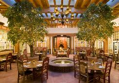 In Santa Fe: La Fonda hotel's courtyard restaurant, La Plazuela, was designed by Mary Jane Colter.