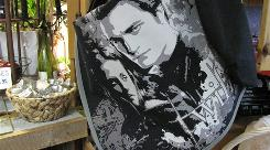 Twihard heaven: The logging town of Forks is awash in memorabilia, from tote bags (above) to Fang Floss.