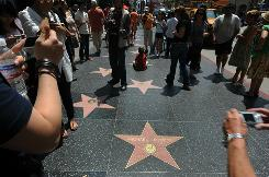 "The Hollywood Walk of Fame turned 50 this year, one of a number of anniversaries that have sparked a ""Visit Hollywood 2010"" promotion."