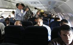 In recent years a lack of personal space while flying has stretched both patience and manners.