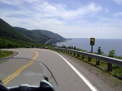 Cape Breton's celebrated Cabot Trail, 190 miles of spectacular ocean and highland vistas, has long been a major draw for serious motorcyclists.