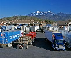 Flagstaff, Ariz: Little America is a trucker's true concrete paradise, surrounded by 500 acres of ponderosa pine forest.
