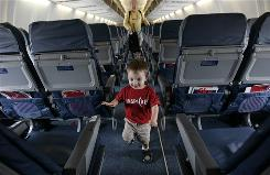 Most consumers would like a families-only section on flights, according to a poll released by fare-comparison site Skyscanner.