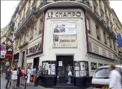 The Champo theater, on the rue des Ecoles, is perhaps the quintessential Parisian art house cinema.