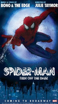 """""""Spider-Man: Turn Off the Dark"""" boasts one of the highest budgets in Broadway history."""