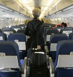 The friendly skies? With increasingly crowded flights and disgruntled passengers, today's flight attendants face a challenge keeping order in the cabin.