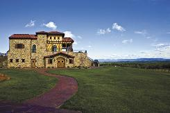 Blue Ridge bounty: North Carolina ranks seventh in wine production in the United States and the number of wineries, such as Raffaldini Vineyards in Ronda shown here, has more than quadrupled since 2001. By Thomas Salley, AP
