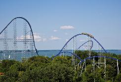 Cedar Point in Sandusky, Ohio was named best amusement park by Amusement Today. The park also took the prize for best steel coaster, for its Millennium Force.