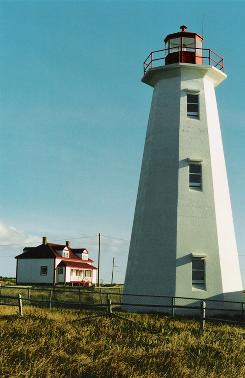 In Newfoundland, Canada: The Cape Anguille Lighthouse Inn offers guests an opportunity to get away from civilization and enjoy the quiet.