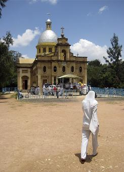 The city of Harar in eastern Ethiopia is  a UNESCO World Heritage site, with a bustling market and profusion of mosques.