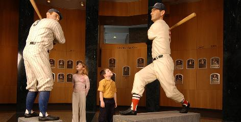 Museum that put it on the map: The National Baseball Hall of Fame is the most famous attraction in Cooperstown, a lakeside community also known for watersports and hockey.