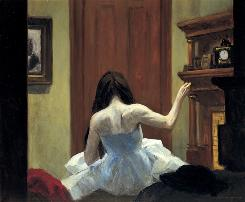 """New York Interior"" is part of the new Edward Hopper exhibit at the Whitney Museum in New York."