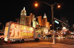 Bright lights, big assets: There's something for everyone in naughty Vegas, from themed hotels to gambling tables to hot babes by the truckload.