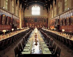 The Great Hall: Christ Church at Oxford University will look familiar to fans of Harry Potter, who ate in a room inspired by this one.