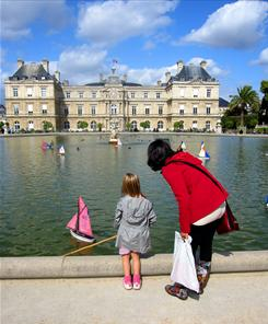 Luxembourg Gardens: The historic grounds are popular with tourists, but you'll often find French children sailing boats in the pond.