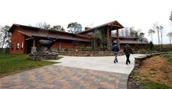 Years in the works, the The Elk County Visitor Center in Benezette, Pa., was unveiled this fall in hopes of turning the commonwealth into a prime destination to view the majestic animal.