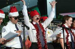 TSA employees at Austin Bergstrom Airport have been practicing for their annual holiday performance.