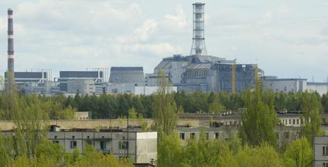 The abandoned town of Pripyat, Ukraine lies in the shadow of the closed Chernobyl nuclear power plant, where a reactor exploded in 1986 and spewed radiation over a large swath of northern Europe.