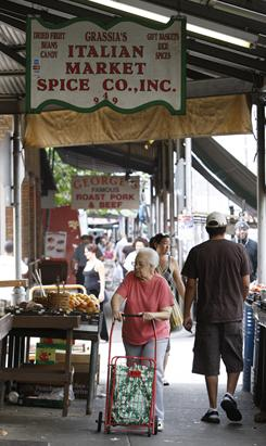Philadelphia's 9th Street Italian Market, which boasts more than 100 vendors and is nearly 10 blocks long, has attracted shoppers and chefs for more than a century. 